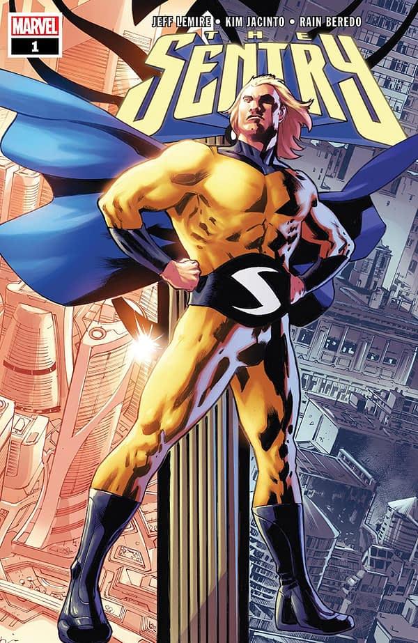 Sentry #1 cover by Bryan Hitch
