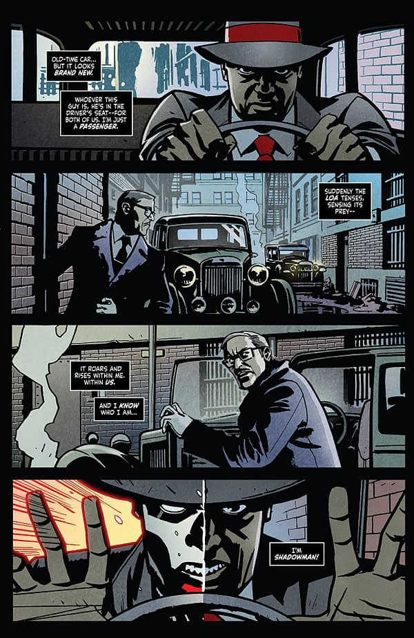 Shadowman #4 art by Shawn Martinbrough and Jose Villarrubia