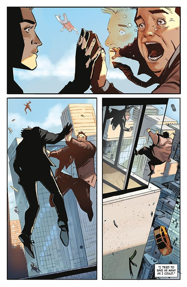 Skyward #3 art by Lee Garbett and Antonio Fabela