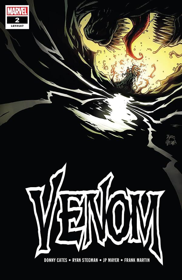 Venom #2 cover by Ryan Stegman