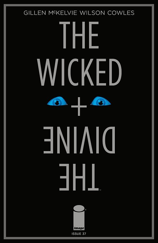 Wicked + Divine #37 cover by Jamie McKelvie