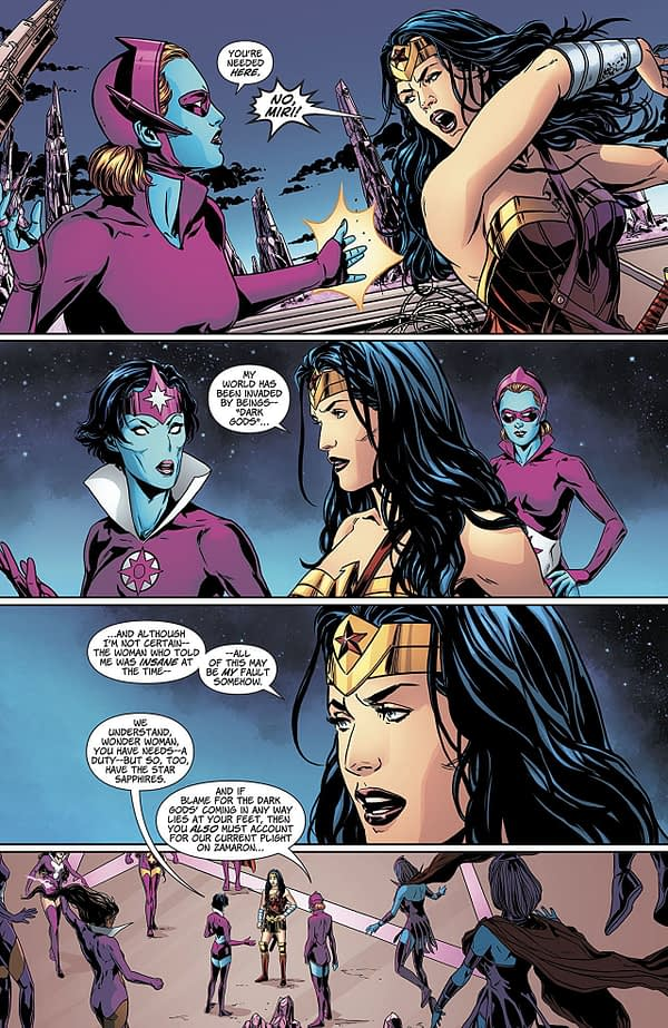 Wonder Woman Annual #2 art by Marc Laming and David Baron