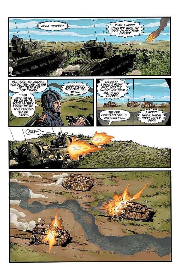 World of Tanks: Citadel #2 art by P.J. Hoden and Michael Atiyeh