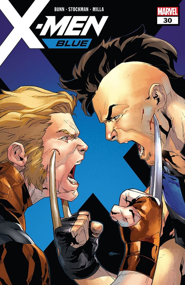 X-Men: Blue #30 cover by R.B. Silva and Rain Beredo