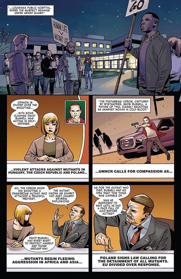 X-Men: Red #5 art by Mahmud Asrar and Rain Beredo