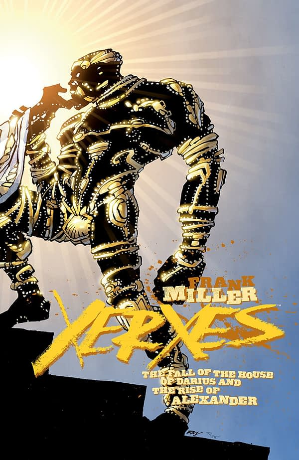 Xerxes #3 cover by Frank Miller