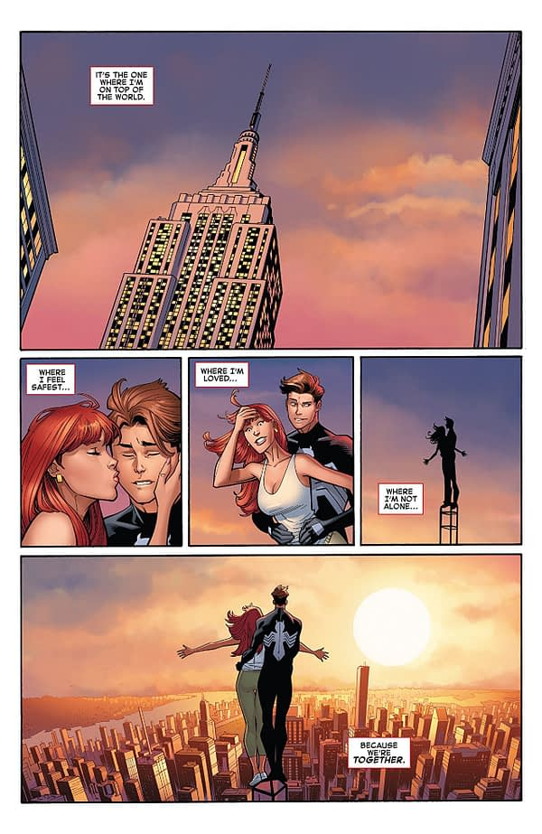 Amazing Spider-Man #1 art by Ryan Ottley, Cliff Rathburn, and Laura Martin