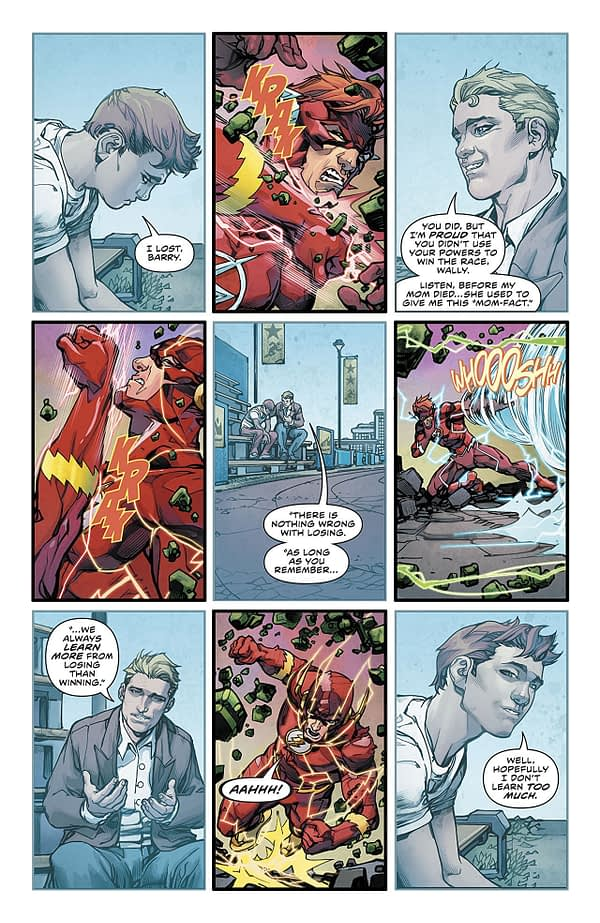 The Flash #50 art by Howard Porter and Hi-Fi