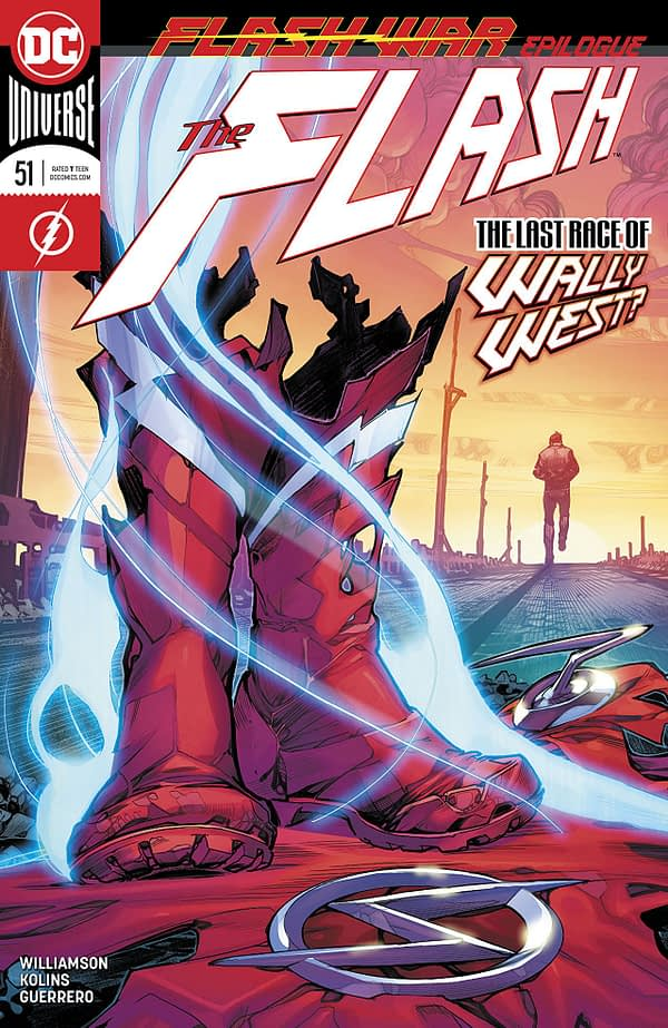 The Flash #51 cover by Howard Porter and Hi-Fi