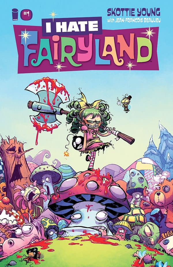 I Hate Fairyland #1 cover by Skottie Young