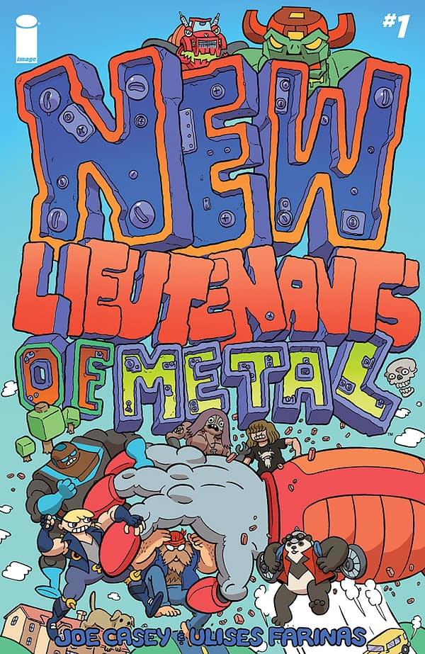 New Lieutenants of Metal #1 cover by Ulises Farinas