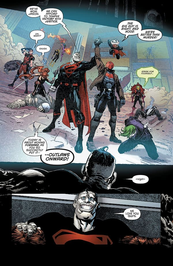 Red Hood and the Outlaws #24 art by Allison Borges and Veronica Gandini