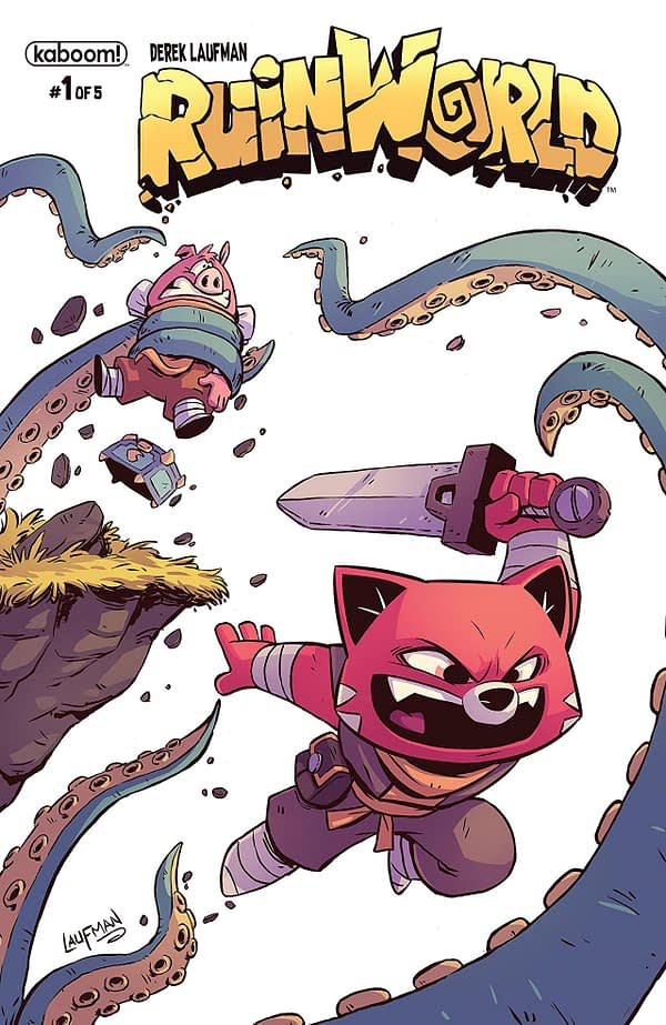 Ruinworld #1 cover by Derek Laufman