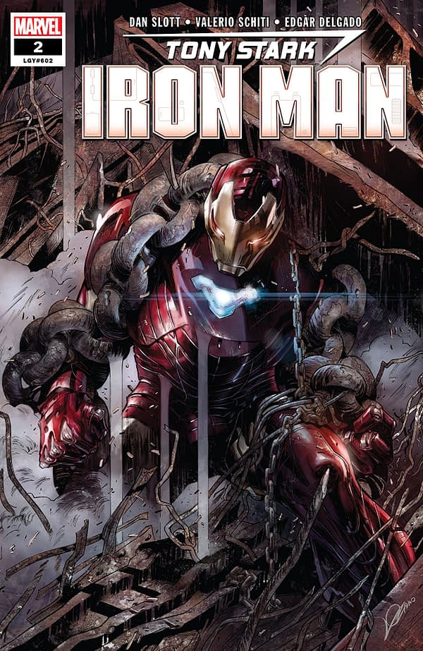 1 Iron Man Variant-Cover Tony Stark Panini 2019