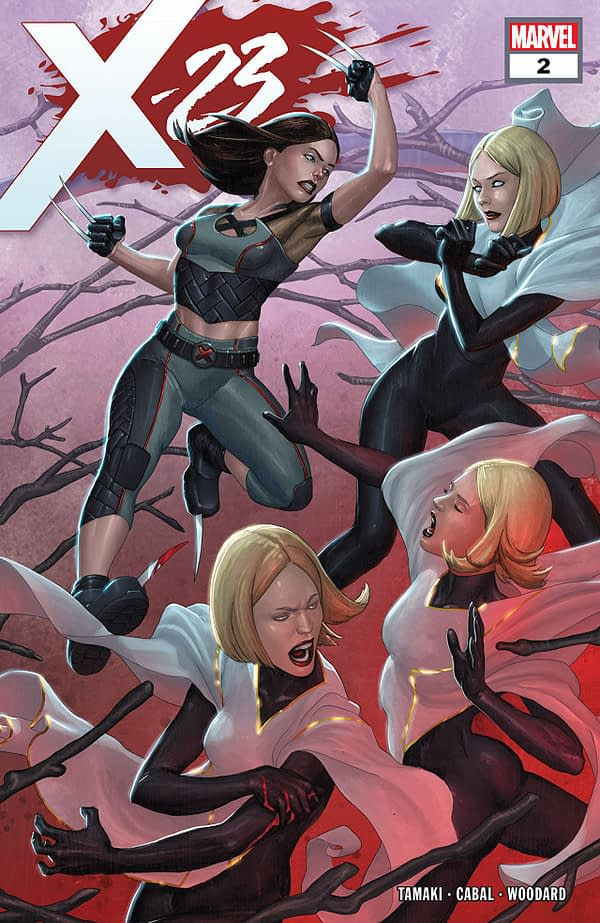 X-23 #2 cover by Mike Choi and Jesus Aburtov