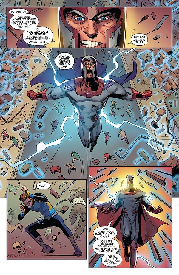 X-Men: Blue #32 art by Andres Genolet and Matt Milla
