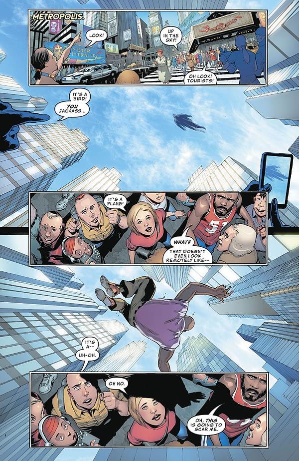 Action Comics #1002 art by Patrick Gleason and Alejandro Sanchez