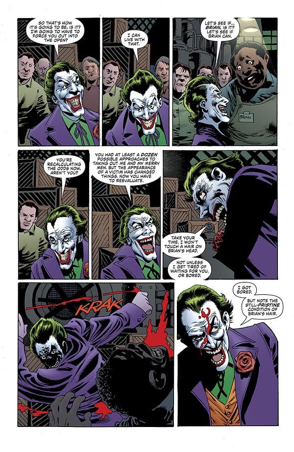 Batman: Kings of Fear #1 art by Kelley Jones and Michelle Madsen
