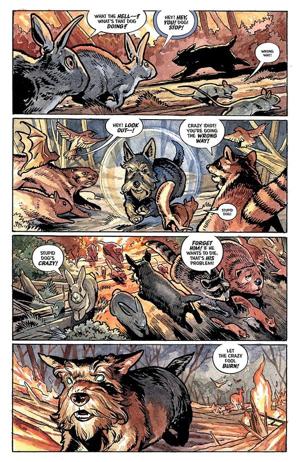 Beasts of Burden: Wise Dogs and Eldritch Men #1 art by Benjamin Dewey
