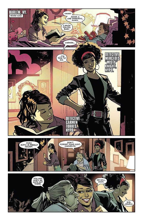 Daredevil Annual #1 art by Marcio Takara and Marcelo Maiolo