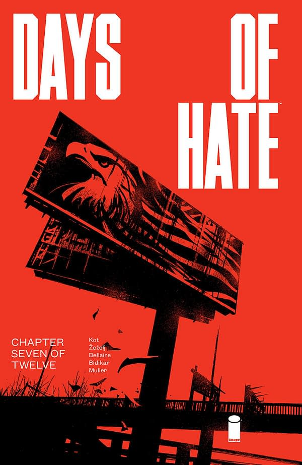 Days of Hate #7 cover by Danijel Zezelj