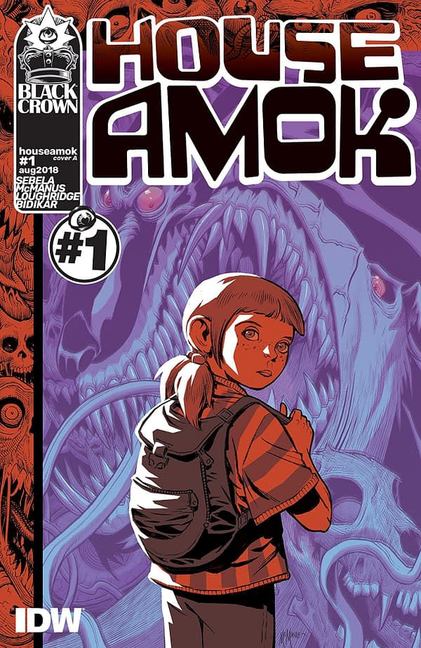 House Amok #1 cover by Shawn McManus