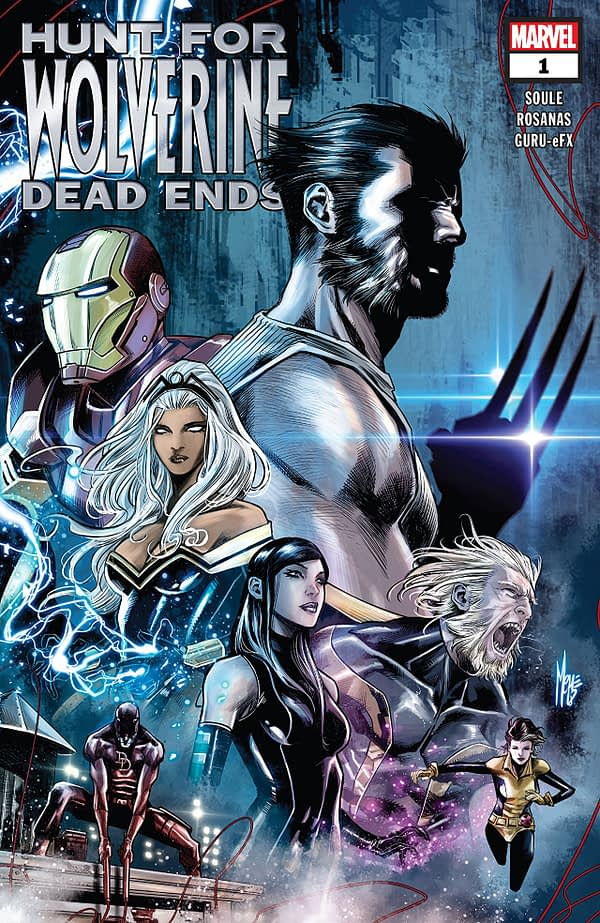 Hunt for Wolverine: Dead Ends #1 cover by Marco Checchetto