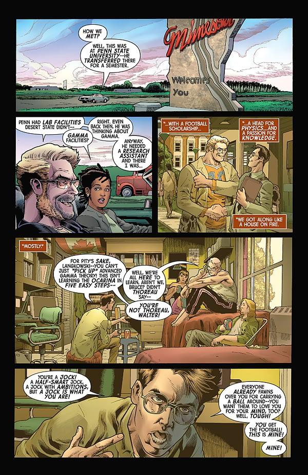 The Immortal Hulk #4 art by Joe Bennett, Ruy Jose, and Paul Mounts