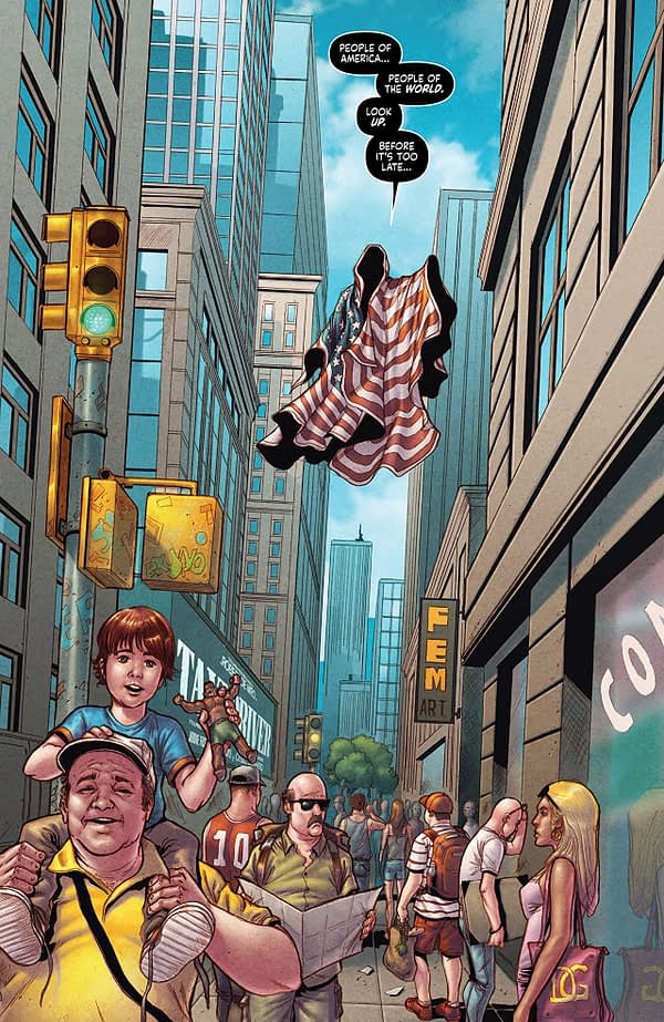 Project: Superpowers #1 art by Sergio Davila and Felideus
