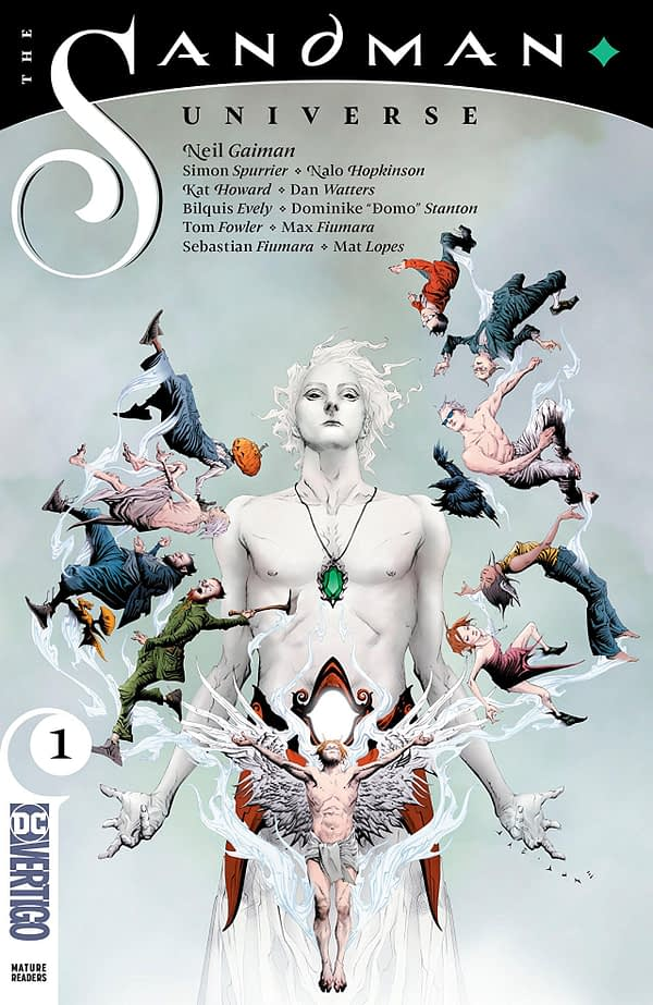 Sandman Universe #1 cover by Jae Lee and June Chung