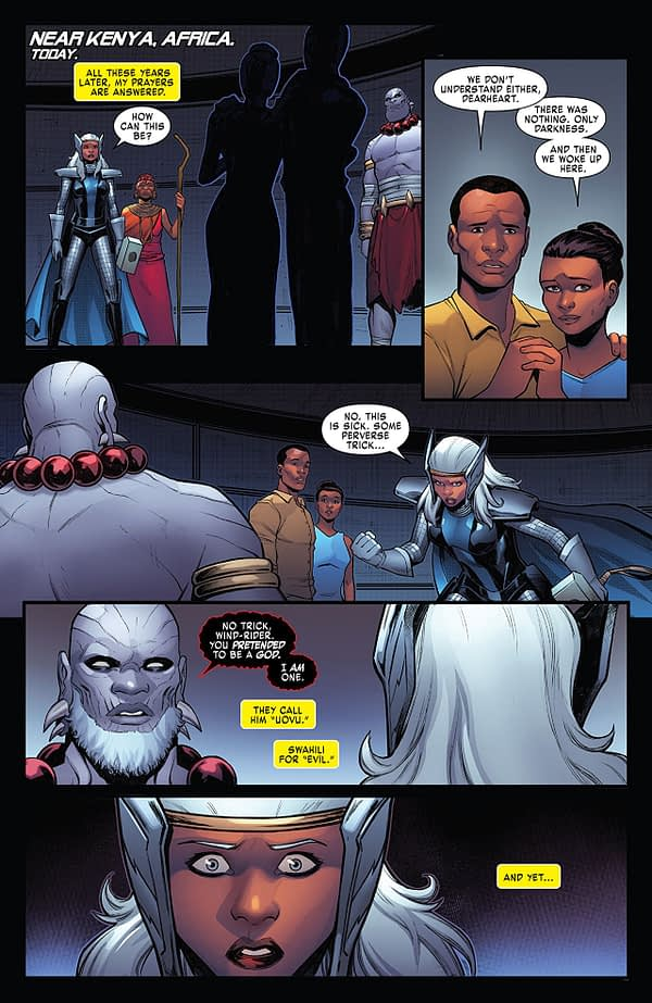 X-Men: Gold #34 art by Michele Bandini and Erick Arciniega