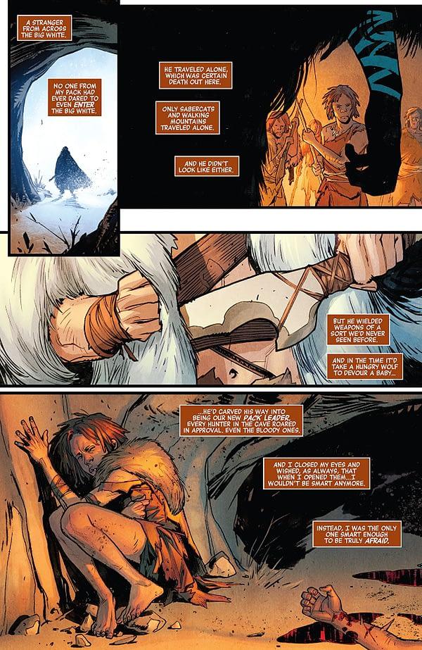 Avengers #7 art by Sara Pichelli, Elisabetta D'Amico, and Justin Ponsor