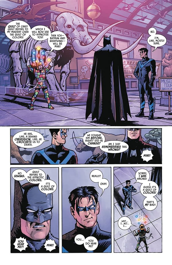 Batman #54 art by Matt Wagner and Tomeu Morey