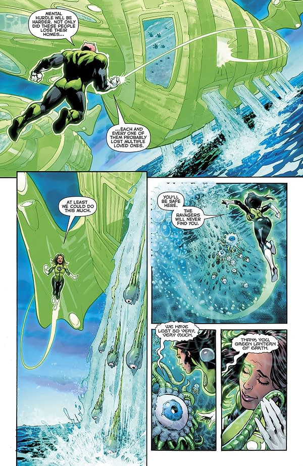 Green Lanterns #54 art by Marco Santucci and Hi-Fi