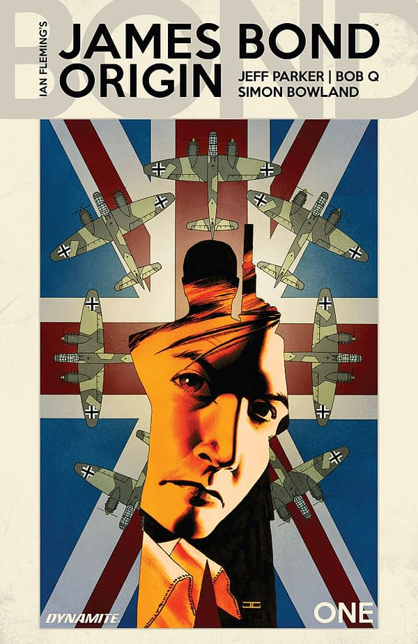 James Bond: Origin #1 cover by John Cassaday