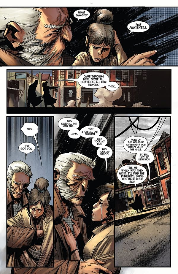 Old Man Logan Annual #1 art by Simone di Meo and Dono Sanchez-Almara