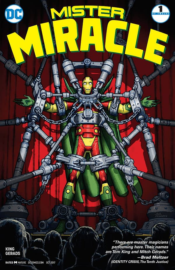 """Tom King is Working on the """"Follow-Up"""" to Mister Miracle and Vision"""