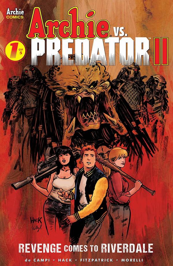 Archie Vs Predator II Drops the DeCarlo For A Meaner Vibe