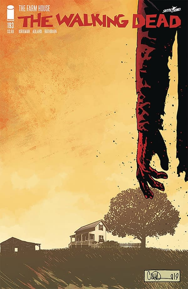 The Walking Dead #193 Goes to Second Print - Still Only $3.99