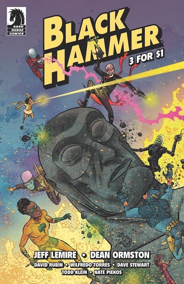 Lemire and Zonjic Launch Skulldigger + Skeleton Boy in December, Plus Black Hammer $1 Reprints