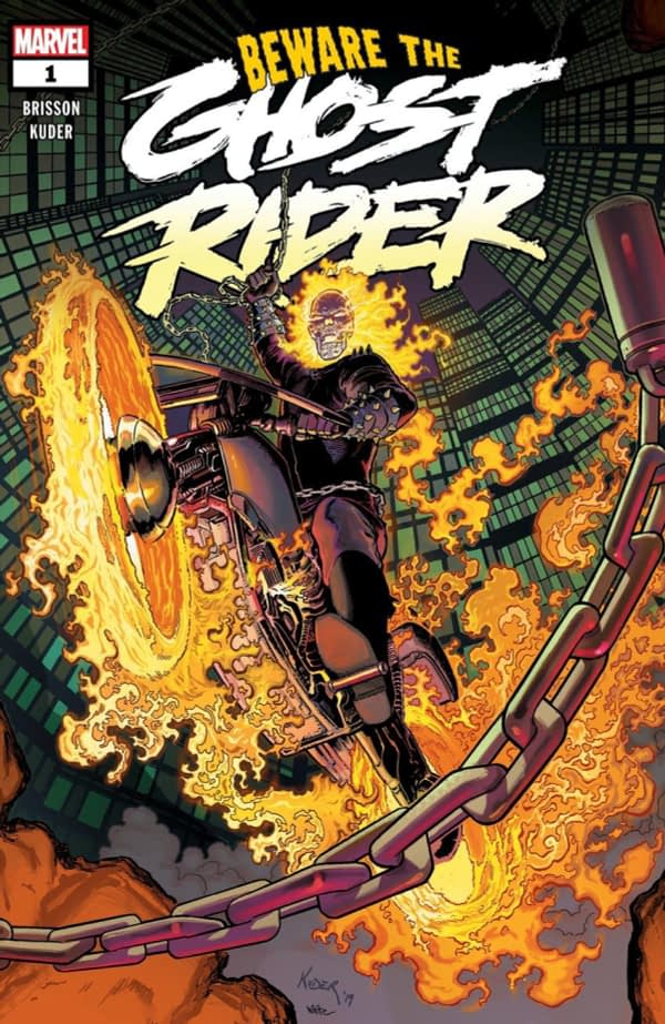 Beware the Ghost Rider Launches in October from Ed Brisson, Aaron Kuder