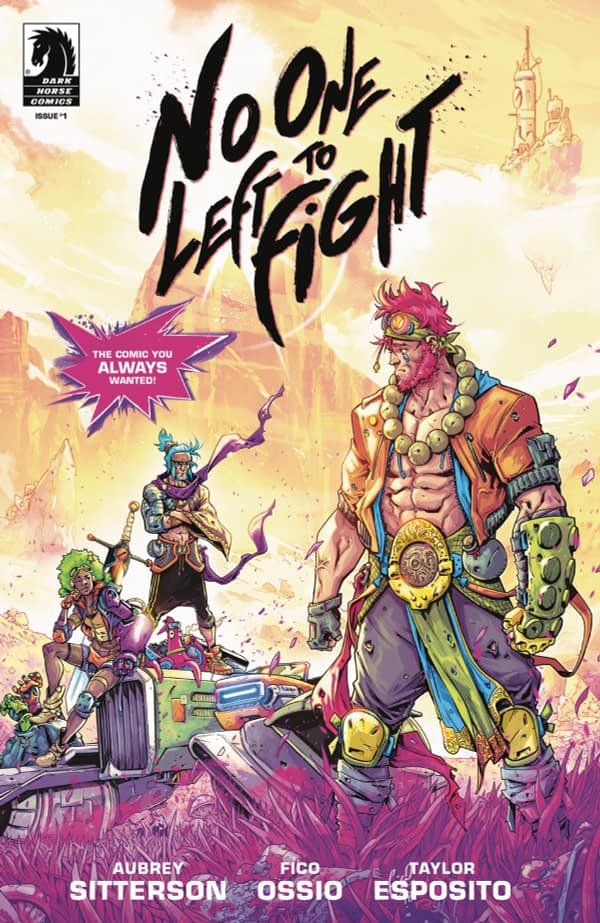 No One Left to Fight is a $20 Comic on eBay Right Now