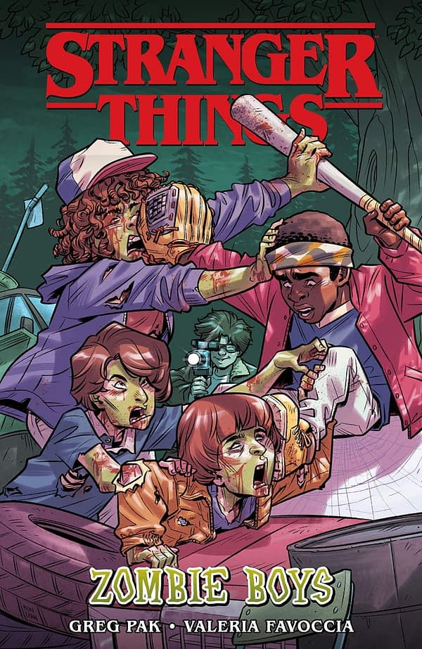 Dark Horse Publish Stranger Things Original Graphic Novel - Zombie Boys by Greg Pak and Valeria Favoccia
