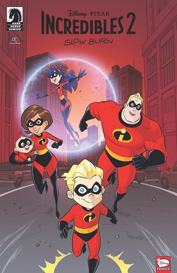 Dark Horse to Publish Another Incredibles 2 OGN