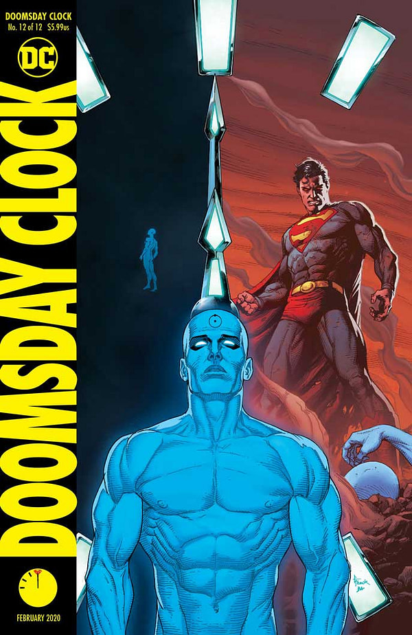"""Scott Snyder on Making Doomsday Clock Part of the DC Universe Again - """"That's Our Job. That's What We're Trying To Do"""""""