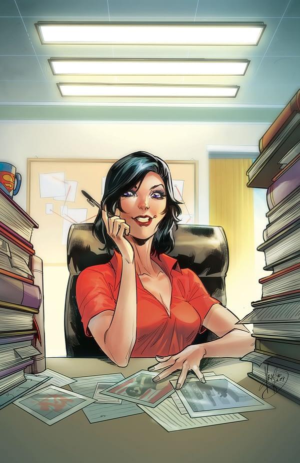 Acetate Covers, HillDC Comics Full November 2019 Solicitations