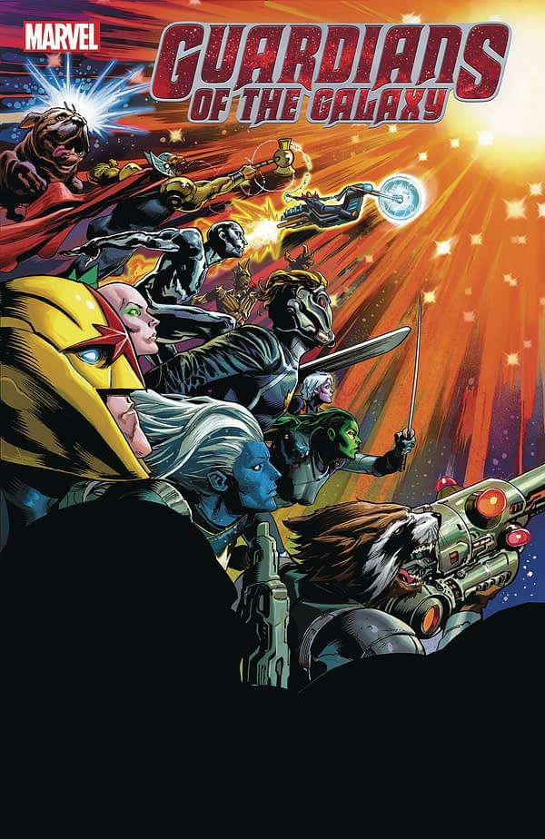 Ariel Olivetti, Dylan Burnett, Geoffrey Shaw, Juan Cabal and Tradd Moore Join Cory Smith on Donny Cates' Guardians Of The Galaxy Cosmic Finale