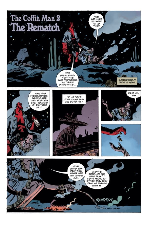 DHP3 #7 Hellboy Coffin Man PG 01