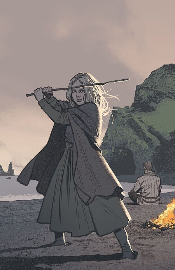 Sword Daughter #1 cover by Greg Smallwood