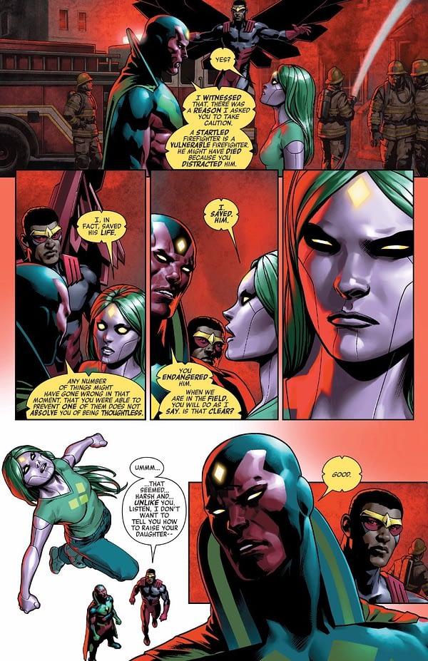 Avengers #672 art by Jesus Saiz